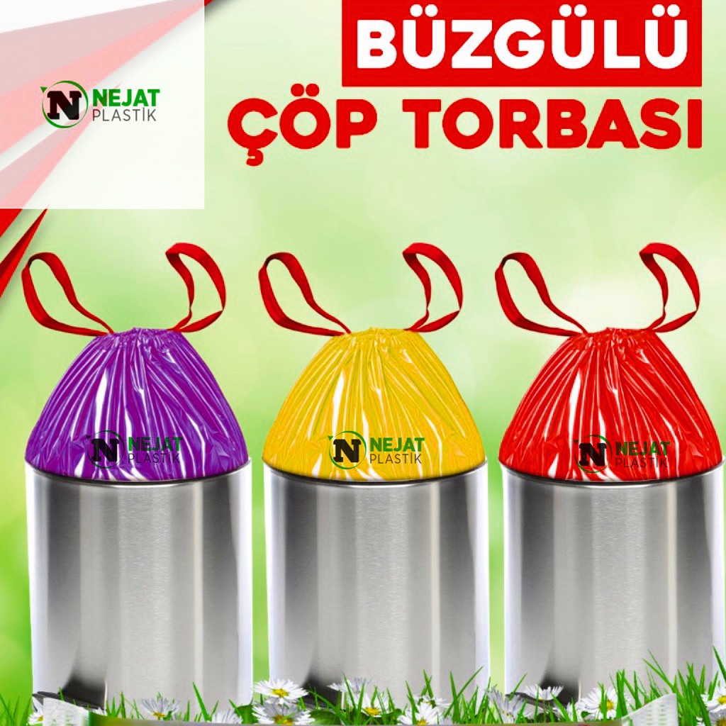 Büzgülü Çöp Torbaları